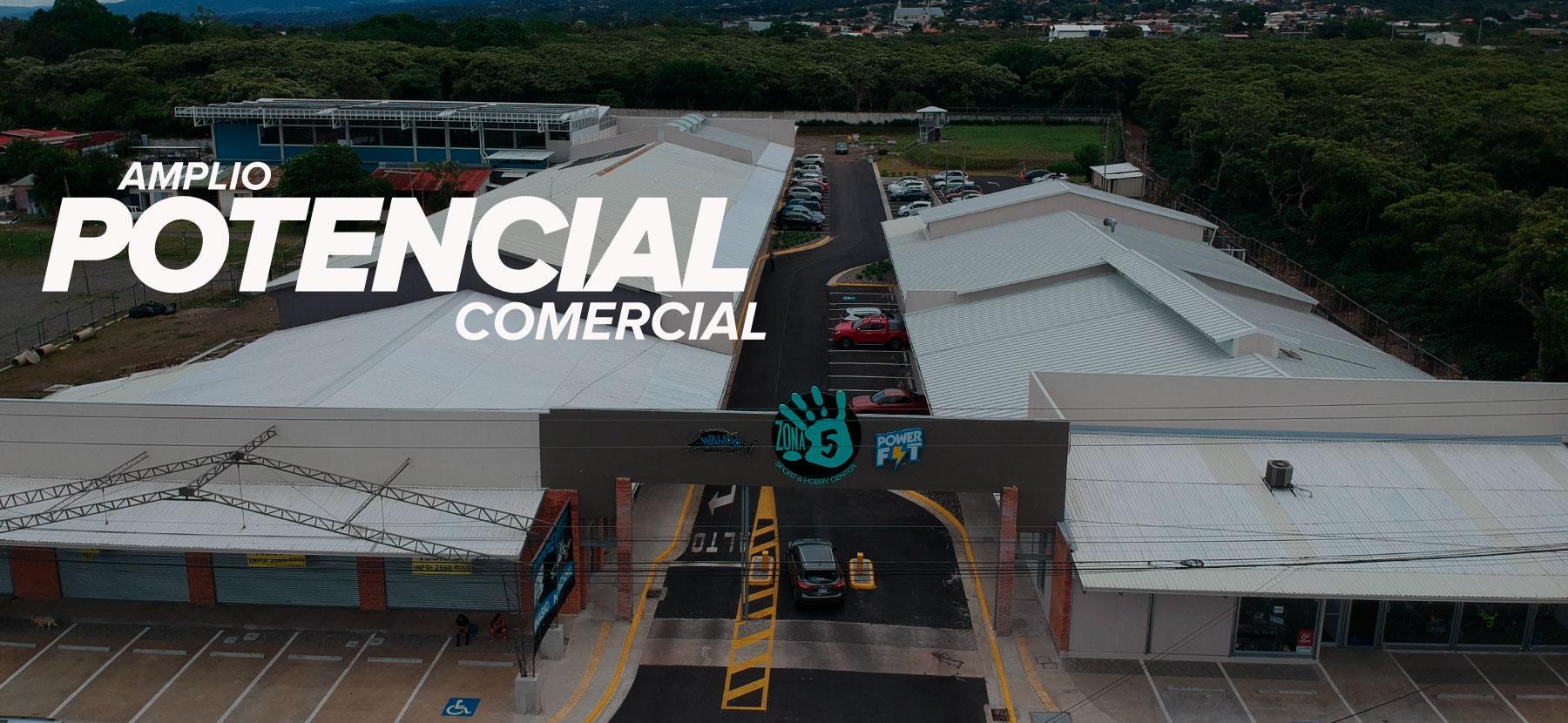 Banner Zona 5 - Amplio Potencial Comercial